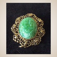 Vintage Brooch Or Pendant