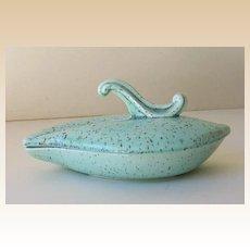 Hoenig California Pottery Lidded Dish