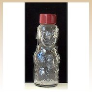 Vintage Brockway Clown Candy Container