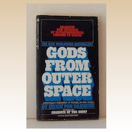 "1972 Paperback Book ""Gods from Outer Space "" Illustrated"