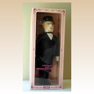 "Large 18 Inch Steiff Doll ""Man In Morning Coat"" With Box"