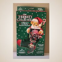 Hallmark 1996 Get Hooked on Collecting Kit Ornament & Book
