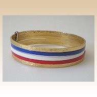 Set of 5 Metal Bangle Bracelets