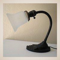 Vintage Eagle Goose Neck Desk Lamp