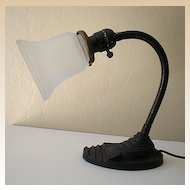 Vintage Eagle Goose Neck Desk Lamp