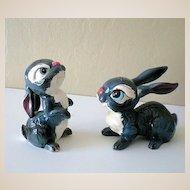 Disney's Thumper Kreiss & Co. Salt & Pepper Figurines
