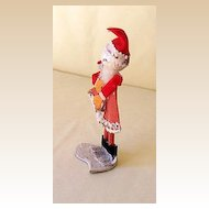 Vintage Santa Claus Figure