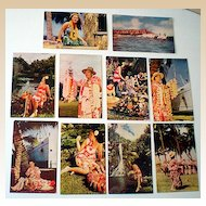 (10) Vintage Color Postcards From Hawaii