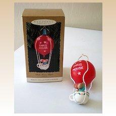 Hallmark Ornament Chris Mouse Flight 1993 Light w/ Light MIB