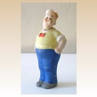 1920's Uncle Walt  Bisque Bobble Head Doll Germany