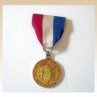 1969 Swim Medal Ribbon Pinback