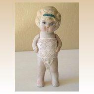 1920's Bisque Doll With Jointed Arms