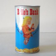 1950s Belfast Tin Soda Advertising Bank