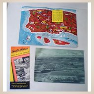 1950s Santa Maria California Information Brochure