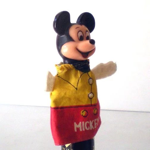 Vintage Disney Mickey Mouse Finger Puppet California