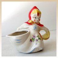Vintage Hull Little Red Riding Hood Side Pour Creamer