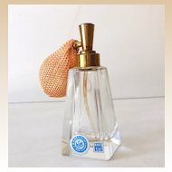 Irice Crystal Perfume Bottle With Atomizer