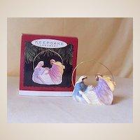"1996 Hallmark Ornament ""Christmas Joy"" Baby Jesus"