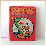 1967 Popeye Big Little Book Illustrated