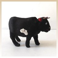 Key Wind Up Walking Fur Covered Bull