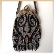 Gorgeous Antique Victorian Beaded Purse