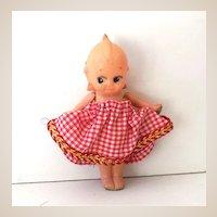 Sweet Vintage Celluloid Kewpie Doll