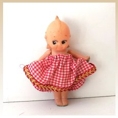 Sweet Vintage Celluloid Kewpie Doll