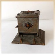 Antique Jeweled Mechanical Cigarette Dispenser