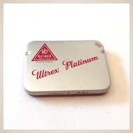 Vintage Ultrex Condom Tin Full