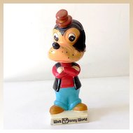 Vintage Disney World Goofy Head Bobber Japan