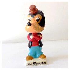 Vintage Disney World Goofy Head Bobber Japan