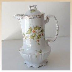Lovely Porcelain Chocolate Pot Germany
