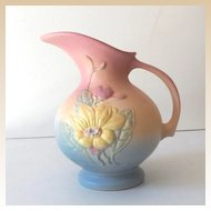 Lovely Vintage Hull Art Pottery Pitcher Vase