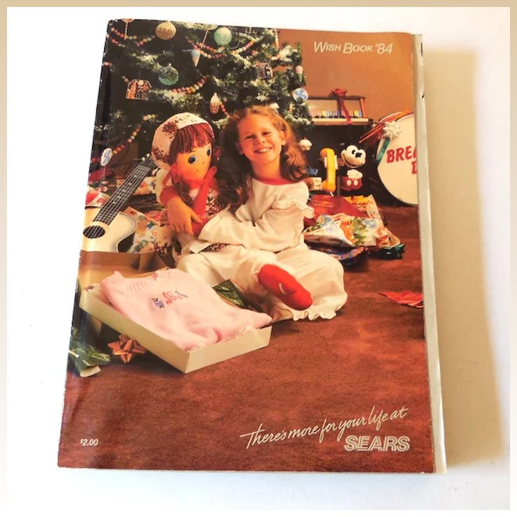 1984 sears wish book christmas catalog - Sears Christmas Catalog