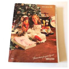1984 Sears Wish Book Christmas Catalog
