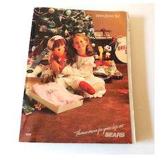 1984 Sears Wish Book Christmas Catalog