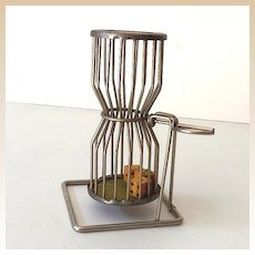 1930s-40s Chuck~a~Luck Gambling Dice Cage