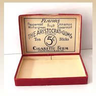 1930s Gold Tip Chewing Gum Box