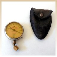 1911  Model A Model T Tire Pressure Gauge in Pouch