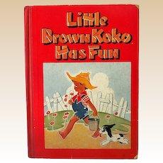 Black Americana Children's Book Little Brown Koko
