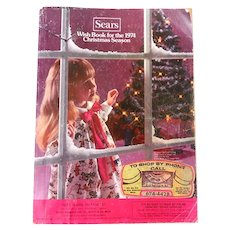 1974 Sears Wish Book Christmas Catalog