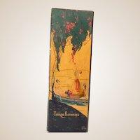 Scarce Large Richard Hudnut Three Flowers Box Empty