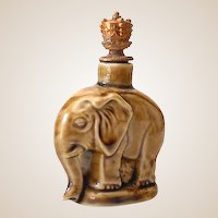 Miniature Elephant Schafer and Vater Crown Top Perfume