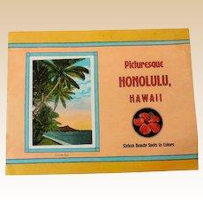 1930s Hawaiian Souvenir Picture Book