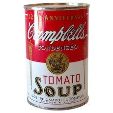 Campbell's Tomato Soup Advertising Tin Bank