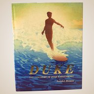 "1995 HB Book  ""Life Story of Duke Kahanamoku"""