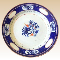 Rare 1700s French Faience Plate