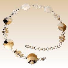 Ladies Silver Tone Western Indian Concho Belt
