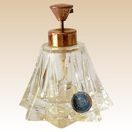 Vintage Irice Perfume Bottle With Pump Top