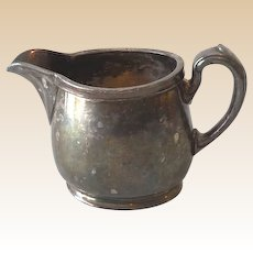 Vintage Reed & Barton Silver Plated Creamer M